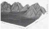 Detection of a meteorite Lake