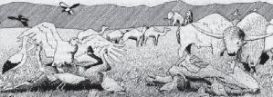 Extinct: the Giant Deer