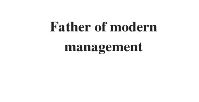 ( Update 2021) Father of modern management | IELTS Reading Practice Test