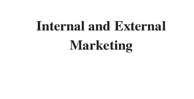 ( Update 2021) Internal and External Marketing | IELTS Reading Practice Test