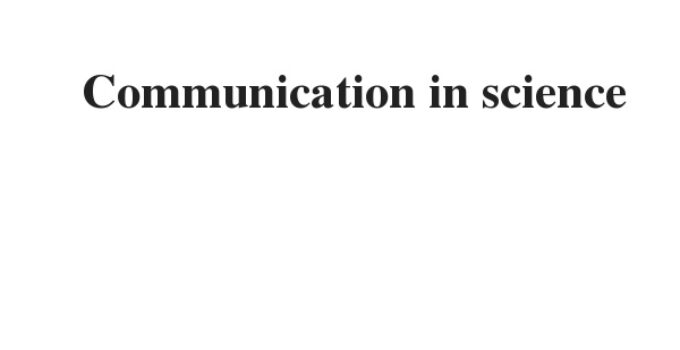 ( 2021)Communication in science   IELTS Reading Practice Test