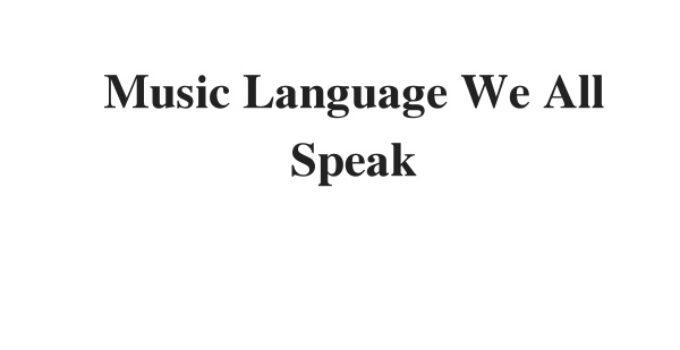 ( Update 2021) Music: Language We All Speak  IELTS Reading Practice Test
