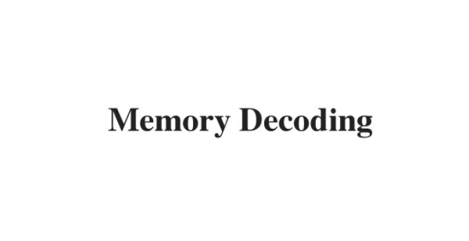 (Update 2021) Memory Decoding   IELTS Reading Practice Test