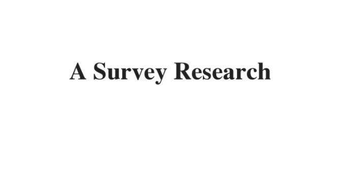 (Update 2021) A Survey Research | IELTS Listening Part 4 Free