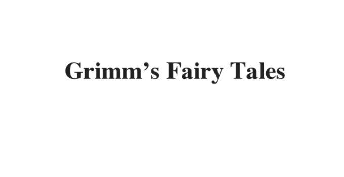 (Update 2021) Grimm's Fairy Tales | IELTS Reading Practice Test
