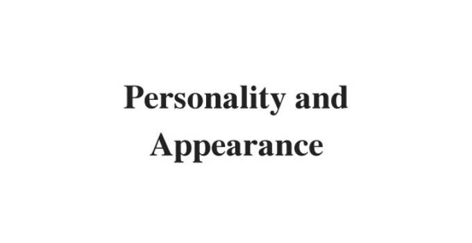(Update 2021) Personality and Appearance | IELTS Reading Practice Test