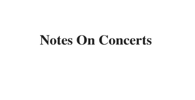 (Update 2021) Notes On Concerts | IELTS Listening Part 1 Free