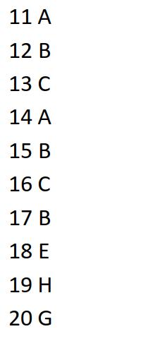 IELTS Listening Part 2 Sample Test 1 answer
