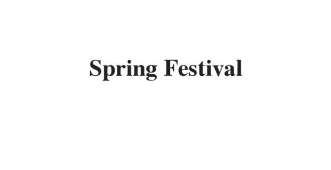 (Update 2021) Spring Festival | IELTS Listening Part 2 Free