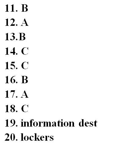 IELTS Listening Part 2 Sample Test 10